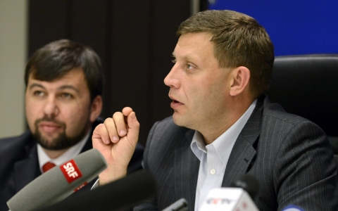 Thumbnail image for Pro-Russian rebels in Ukraine name leader after holding elections