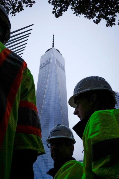 WTC construction worker
