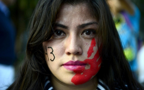 Thumbnail image for Thousands protest missing Mexico students despite mayor arrest