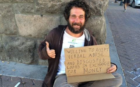 Thumbnail image for Voucher programs for panhandlers aim for 'real change, not spare change'