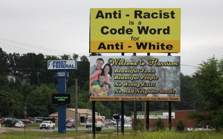In Arkansas, white town is a black mark