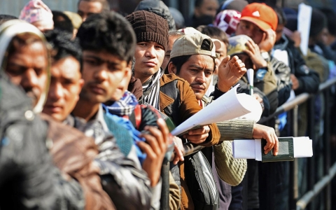 Thumbnail image for For aspiring Nepali migrants, the risks start at home