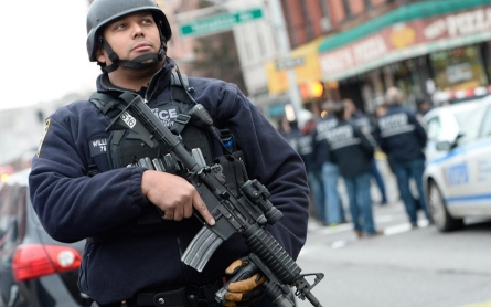 US police departments on alert after two NYPD officers 'assassinated'