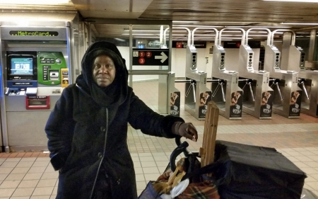 No place like home for the holidays: NYC's homeless endure the winter