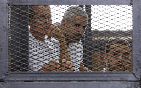 Thumbnail image for Al Jazeera staff held for one year in Egypt
