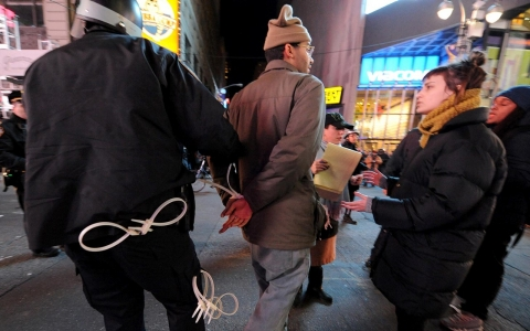 Thumbnail image for Dozens arrested overnight in protests over NYPD chokehold death