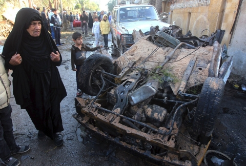 Thumbnail image for UN: At least 733 Iraqis killed in January as Fallujah fighting rages