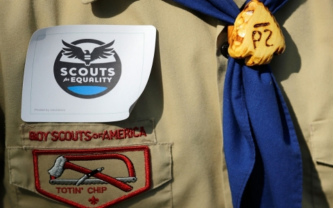 Thumbnail image for Boy Scouts ban on gay leaders remains despite first 'out' Eagle Scout
