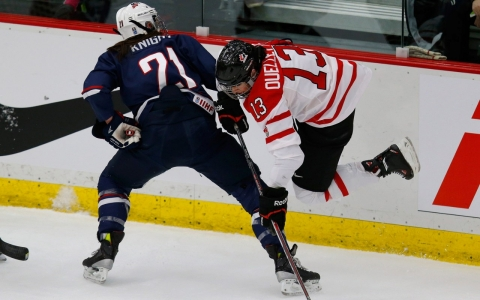 Thumbnail image for When US, Canada collide in women's hockey, 'we want to kill each other'