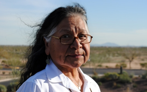 Salt River Pima-Maricopa, Native American, children and violence