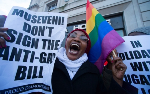 Thumbnail image for Officials: Uganda's leader to sign anti-gay bill