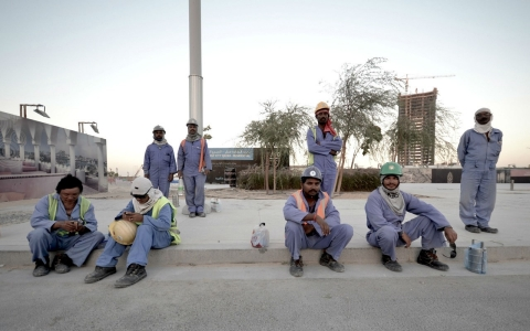 Thumbnail image for Qatar migrant workers die by hundreds