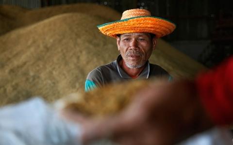 Thai farmers surround PM's office demand rice payments Al Jazeera America