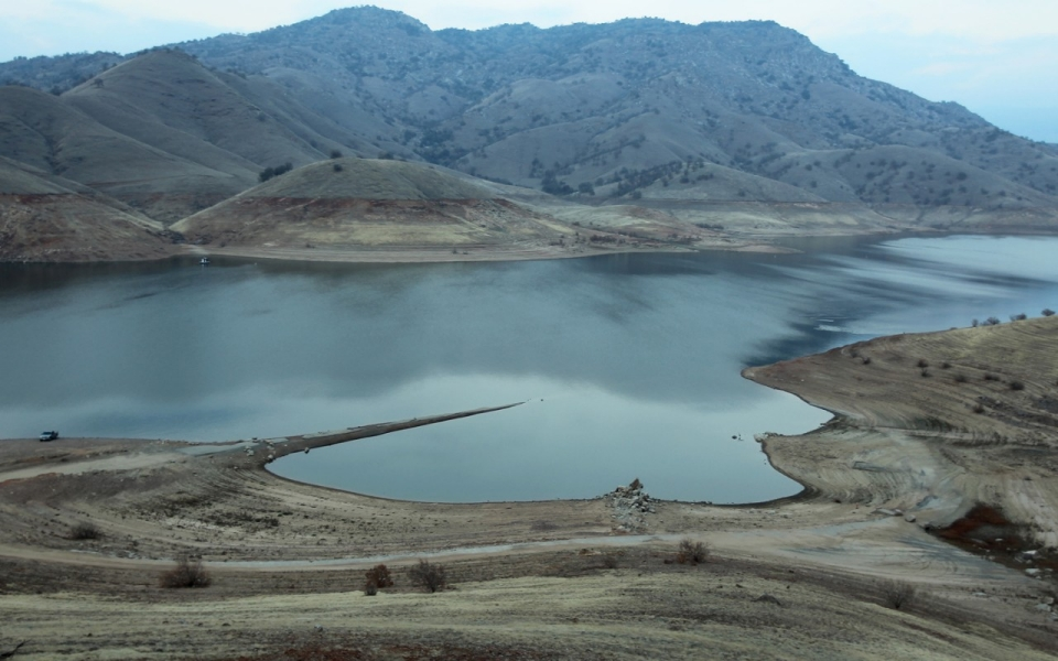 Drought threatens california wildlife al jazeera america for Lake kaweah fishing