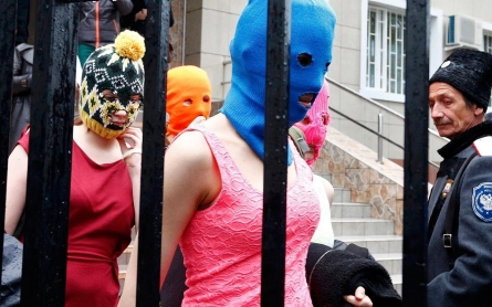 Former Pussy Riot members briefly held in Sochi, Russia