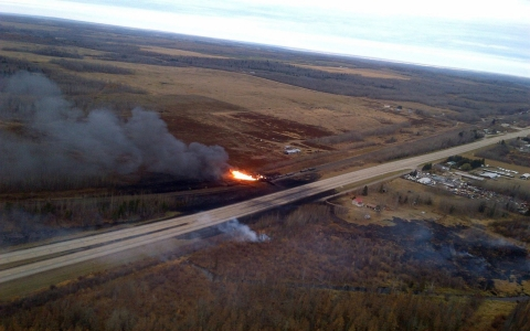 Thumbnail image for Canadian train derailment highlights debate over crude oil transportation