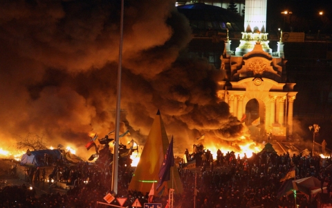 Thumbnail image for Ukraine leader denounces 'coup' bid as EU weighs sanctions