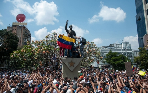 Thumbnail image for Venezuela unrest energizes opposition