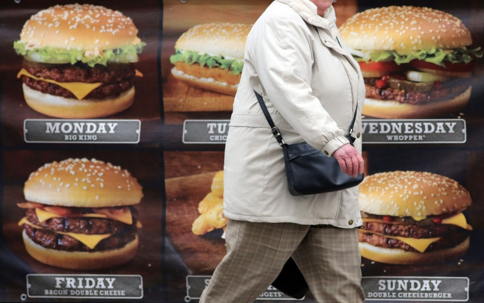Obesity due to fast food essay