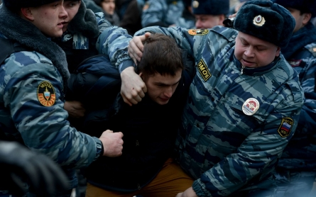 Russian court convicts 8 for roles in 2012 anti-Putin protest