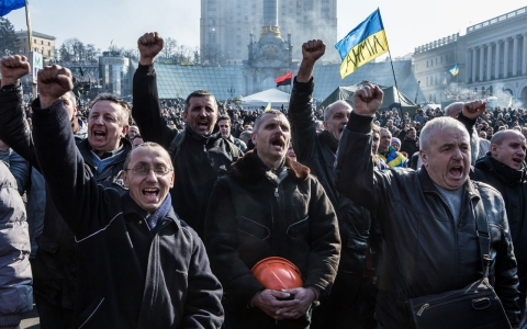 Thumbnail image for Despite deal, Ukrainian street remains wary