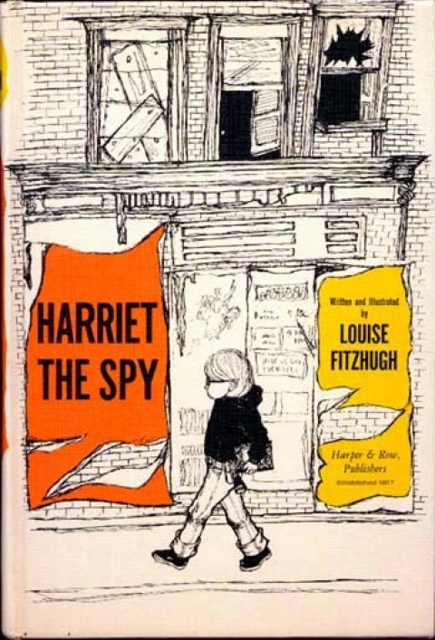 "The cover of ""Harriet the Spy"""
