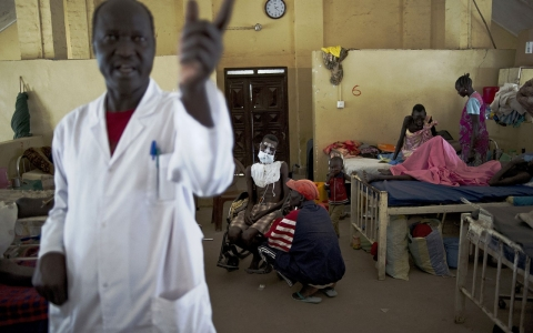 South Sudan doctors