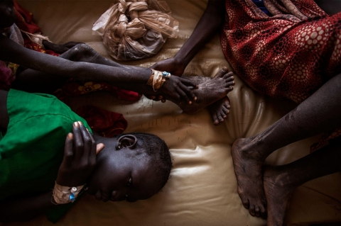 Image for A photographer on the ground in South Sudan