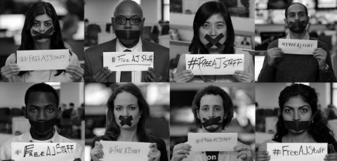 Thumbnail image for #FreeAJStaff: A global day of action