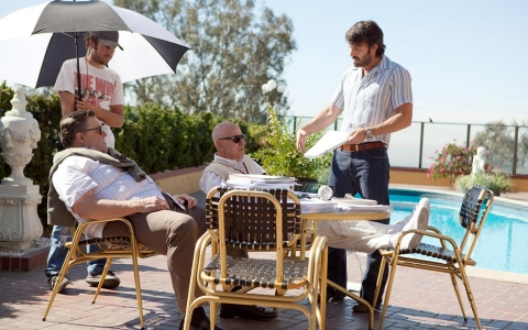 Ben Affleck directs Alan Arkin and John Goodman