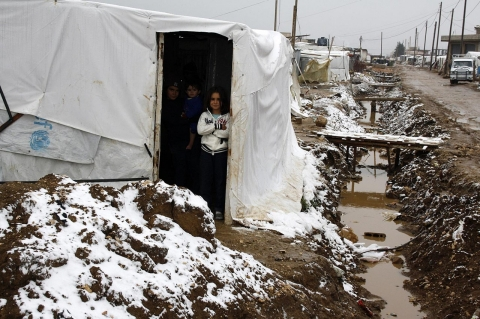 Thumbnail image for Winter's no wonderland for beleaguered Syrian refugees
