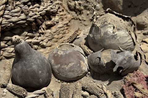 Thumbnail image for Photos: Mummies unearthed in ancient Peruvian tomb