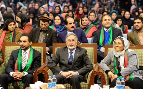 Thumbnail image for Afghan VP candidate has place on the ticket, but not a seat at the table