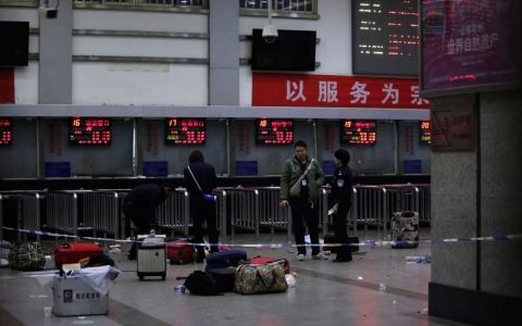 Thumbnail image for Dozens killed in China train station knife attack