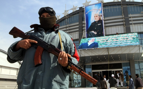 Thumbnail image for Taliban threatens to disrupt Afghan elections