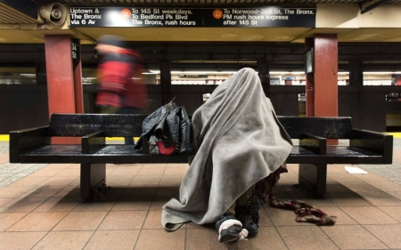 Report: NYC homelessness soared under Mayor Bloomberg