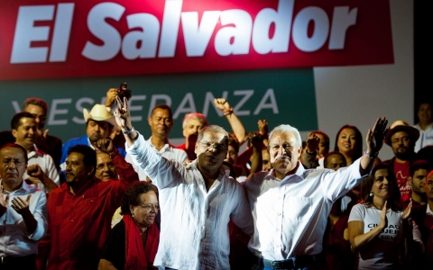 Thumbnail image for Former rebel leader declared winner in El Salvador elections