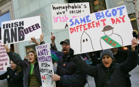 Thumbnail image for Sam Adams pulls out of St. Patrick's parade over LGBT exclusion