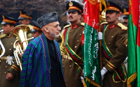Thumbnail image for Karzai insists US troops can leave Afghanistan by year's end