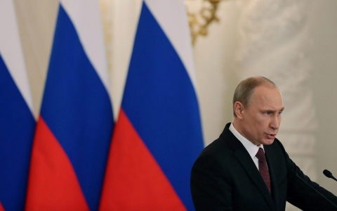 Thumbnail image for Putin signs treaty for Crimean annexation, blasts West