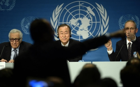 Thumbnail image for UN chief blames Syrian government, rebels for humanitarian disaster