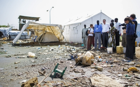 Thumbnail image for Over 1 million displaced in South Sudan: UN