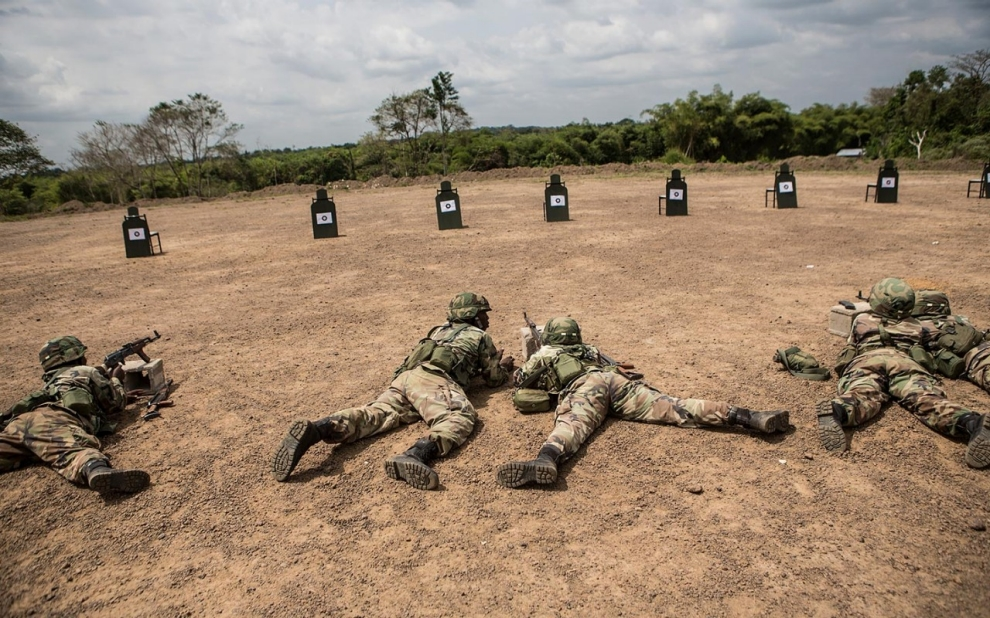 Protecting health care: Liberia Army is setting the example - YouTube