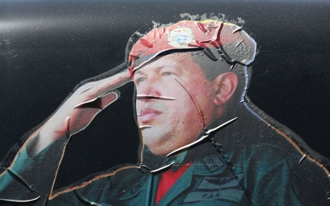 Thumbnail image for Venezuela revolution challenged one year after Chavez's death