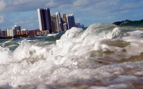 Miami is the U.S. city considered most economically vulnerable to sea level rise.