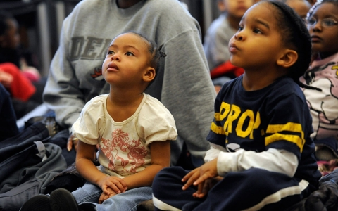Thumbnail image for Report finds black and Latino children lagging