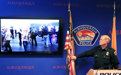Thumbnail image for Justice Department: Albuquerque police use of force is unconstitutional