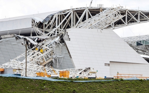 Thumbnail image for Collapse at Sao Paulo World Cup stadium leaves workers dead