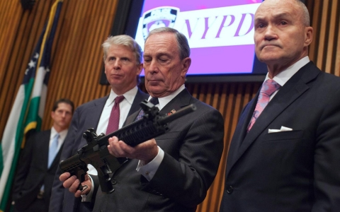 Thumbnail image for Bloomberg takes aim at gun lobby with $50M advocacy group