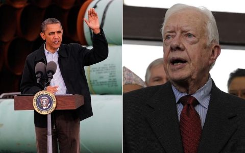 Thumbnail image for Canadian P.M. bristles as Jimmy Carter urges Obama to reject Keystone XL